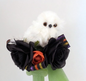 corsage-with-owl